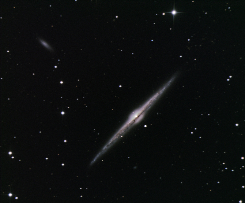 NGC 4565 Edge on Galaxy