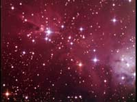 NGC 2264 cone Nebula - Color Reprocessed