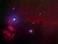 IC 434 Widefield - Flame and Horsehead Nebula's