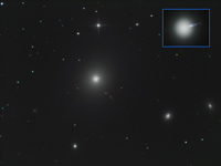 Messier 87 Elliptical Galaxy